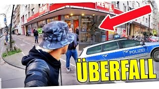 Überfall auf REWE! | Vlog
