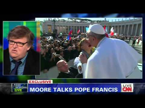 """Michael Moore: """"Say Our Prayers Tonight That This Pope Is Going to Be a Different Pope"""""""