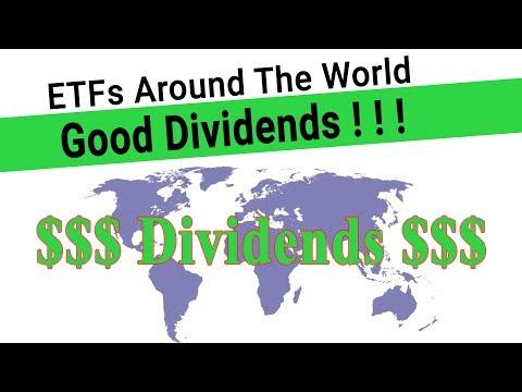 Global Dividend Portfolio - GOOD Dividend ETFs From Around The World