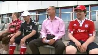 FC Bayern München Fangesänge mit Raimond Aumann