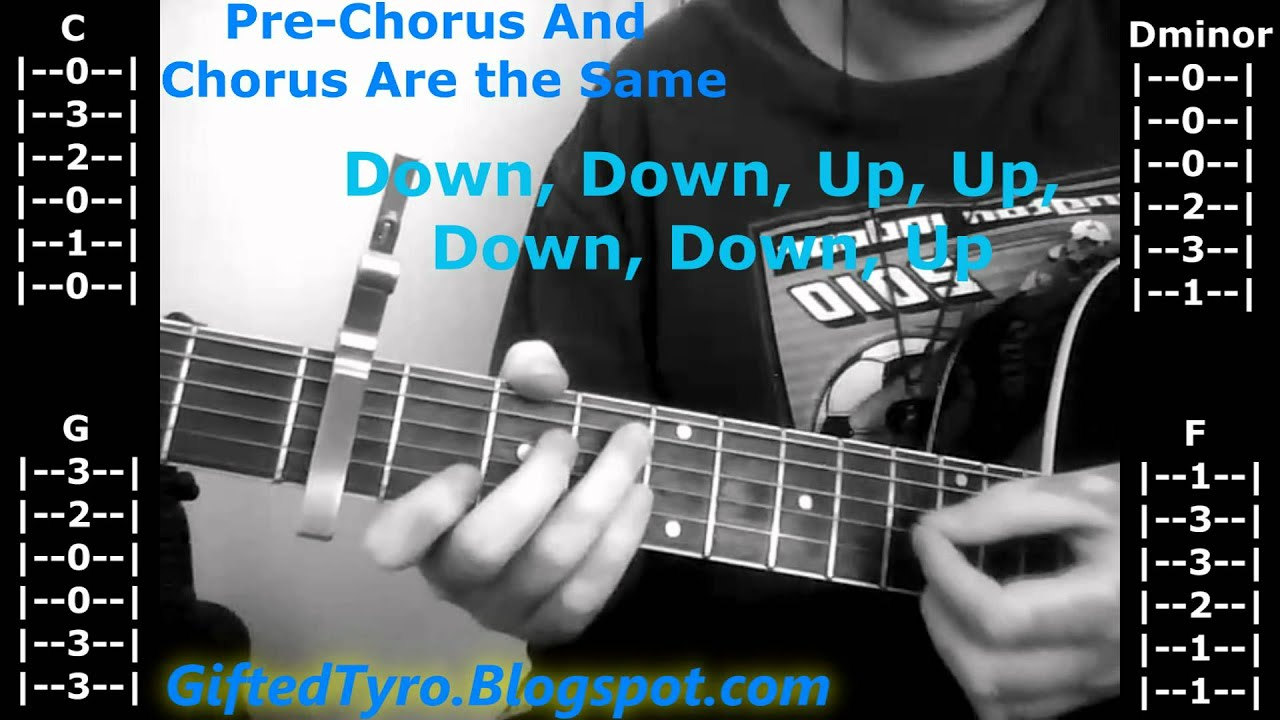 Guitar Tutorial Kiss You Inside Out By Hedley Tabs Included Youtube