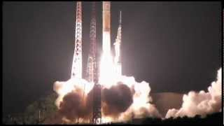 【20120518 AM1:39】H2Aロケット発射の瞬間(種子島宇宙センター) thumbnail