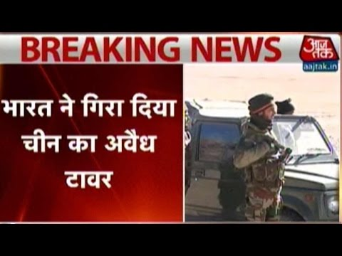 Standoff Between Indo-China Troops Near Line Of Actual Control