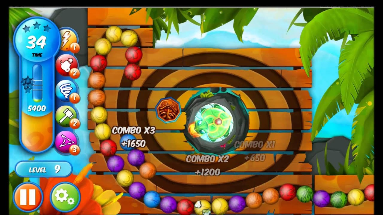 Woka Woka Marble Shooter Gameplay 2 Youtube