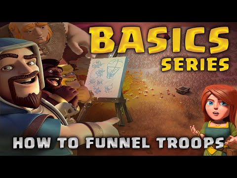 How to Funnel Troops | Basics Guide | Clash of Clans