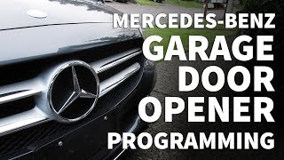How to Program Mercedes Garage Door Opener – Mercedes Benz C300 Garage Door Programming