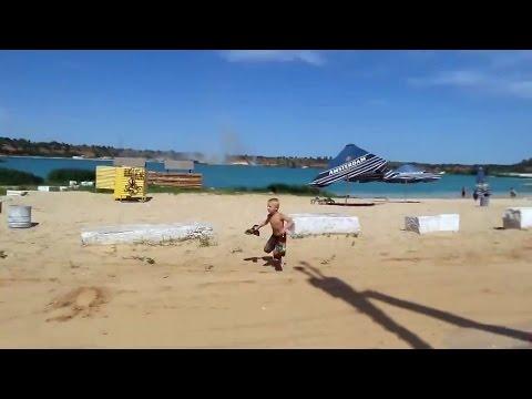 Минометный обстрел пляжа