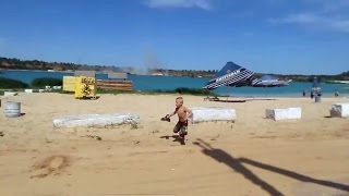 Минометный обстрел пляжа в Авдеевке 20 07 2014 Боевые действия на Юго-Востоке Украины.