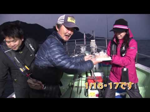 紀北町紀引本浦のボートのイカ五目(2017年2月18日放送)
