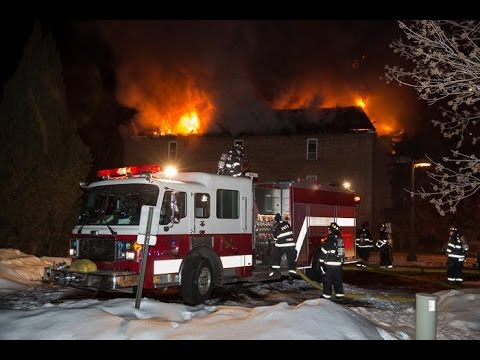 Rolling Meadows Il 3rd Alarm Fire Youtube