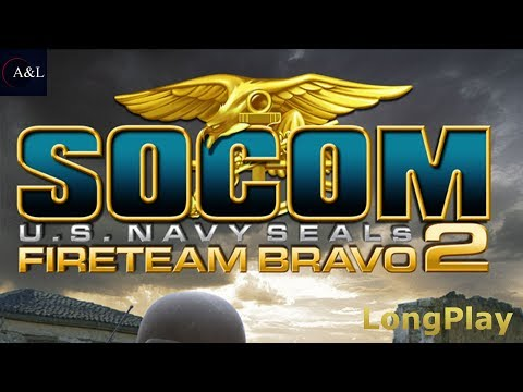 SOCOM - U.S. Navy SEALs Fireteam Bravo 2 - LongPlay [4K:60FPS]🔴