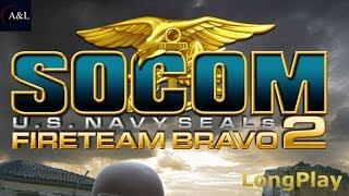 SOCOM - U.S. Navy SEALs Fireteam Bravo 2 - LongPlay [4K:60fps]