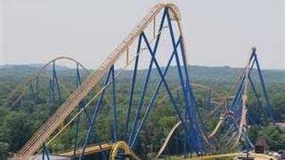 11 Bad Ass Rollercoasters In 22 Minutes
