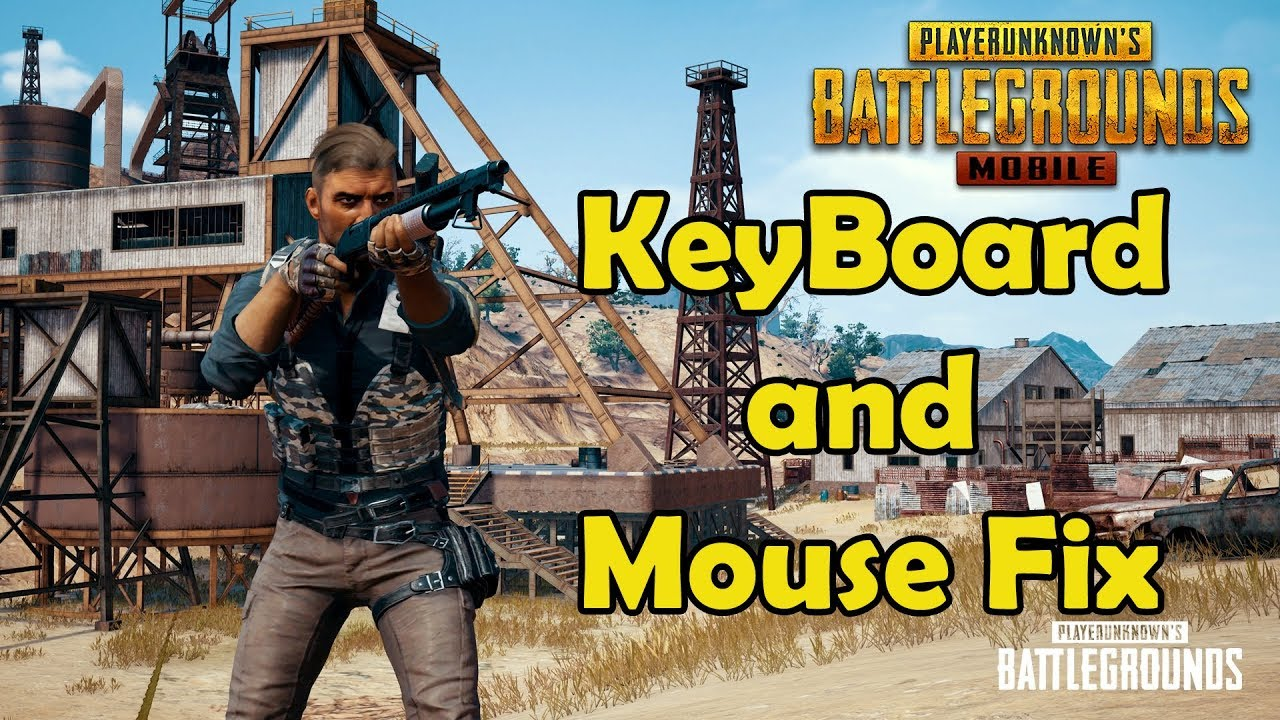 How To Fix Key Board and Mouse not Working In Tencent Emulator After The  Update in PUBG Mobile