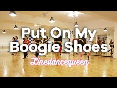Put On My Boogie Shoes Line Dance (Jaszmine Tan  ) High Beginner