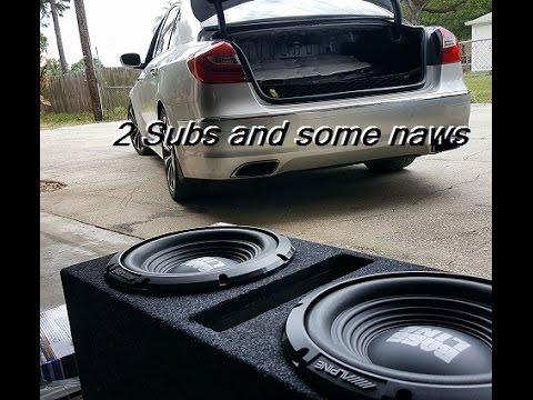 Genesis Sedan Sub Install on