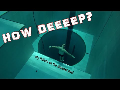 Y40 - DEEPEST POOL IN THE WORLD - feel like flying