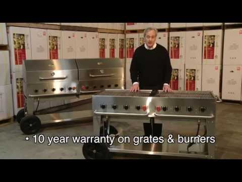 Crown Verity Stainless Steel Large Barbecue Grills