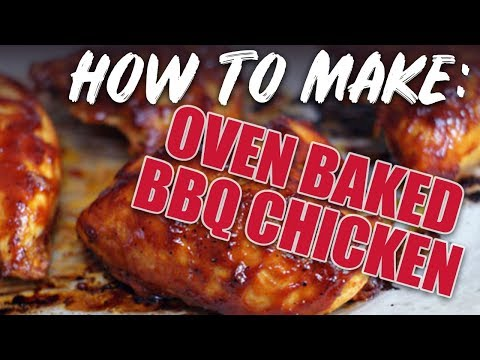 How to slow cook bbq chicken in the oven
