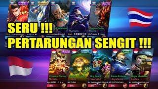 Seru !!! Pertarungan Sengit !!! INDONESIA VS THAILAND Arena Contest