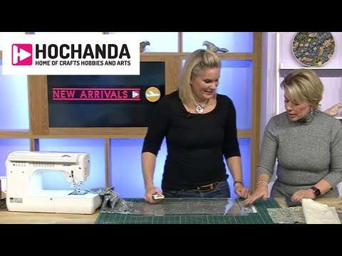 William Morris Fabrics And Sewing Demos With Natasha McCarthy At Hochanda.com!