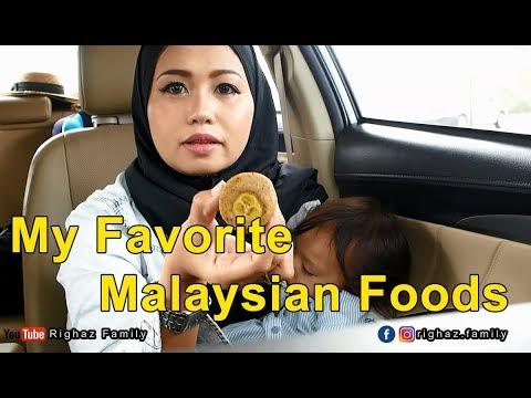 Makanan Favorite di Malaysia | Malaysian Food | Righaz Family vlog