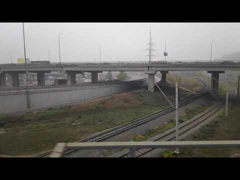 ''Глазами пассажира ст.Киев-Пассажирский-ст.Дарница//from The Train Window Kiev-Pass.-Darnytsa