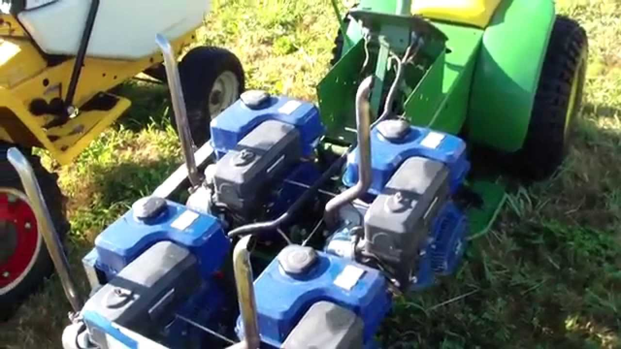 Custom 4 Motor Pulling Garden Tractors At The Sky Valley Stock And Antique  Tractor Club Show   YouTube