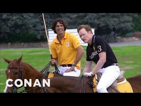 Conan Learns To Play Polo  – CONAN on TBS