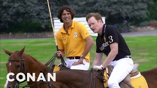 Download Conan Learns To Play Polo  - CONAN on TBS Mp3 and Videos