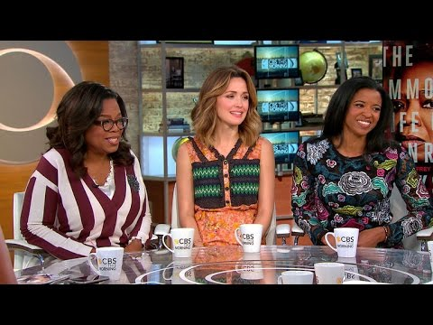 """Winfrey, Byrne and Goldsberry on """"The Immortal Life of Henrietta Lacks"""""""