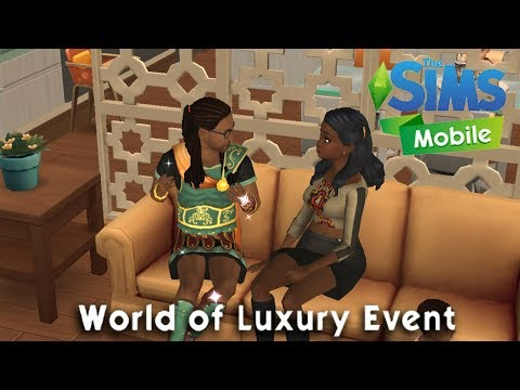 Sims Mobile: World of Luxury Event!