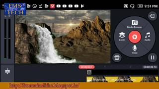 Animated Background in the KineMaster Mobile Video Editing App for Android...free main sikho