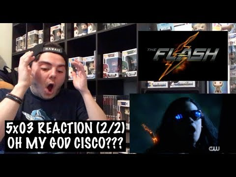 THE FLASH - 5x03 'THE DEATH OF VIBE' REACTION (2/2)