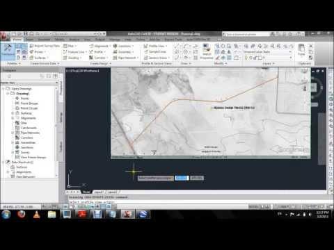 uos highway design using autocad civil 3d 2012 tutorial 7th april rh youtube com autocad civil 3d 2012 manual pdf civil 3d 2012 manual pdf