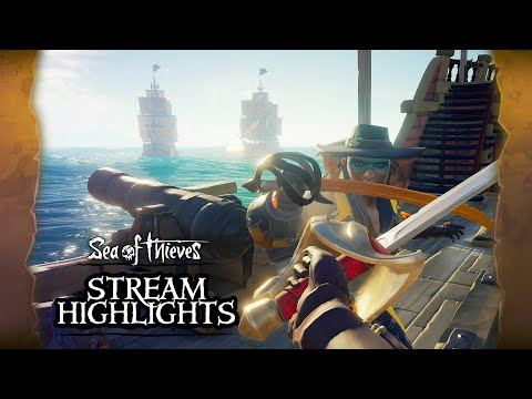 Sea of Thieves Weekly Stream Highlights: The Arena - YouTube