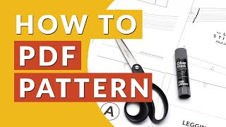 Fastest PDF Sewing Pattern Assembly? 4 methods tested