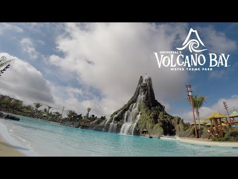 I went to Universal's Volcano Bay Water Theme Park and it was awesome!