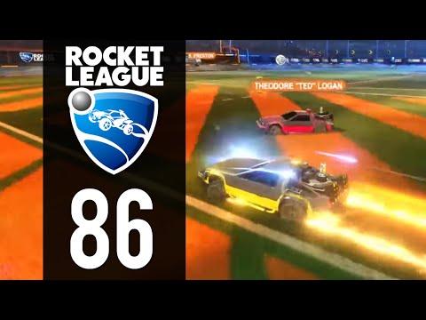 Rocket League Gameplay - Part 86 - Delorean Time