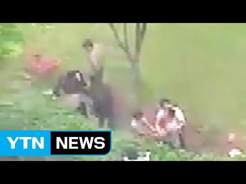 가해자들, 웃통 벗고 문신 과시...'광주 폭행' 논란 일파만파 / YTN