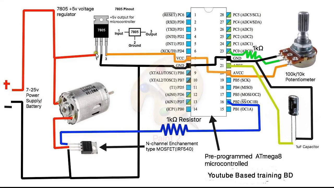 Emc Golf Cart Wiring Diagram Dc Motor Speed Controller How To Dc Motor Speed Control