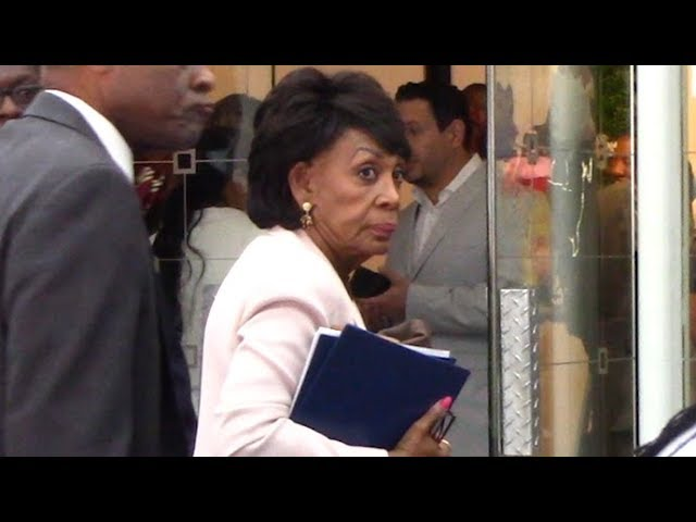 Watch Congresswoman Maxine Waters' Reaction When Asked About Roseanne Barr