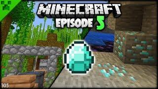 Minecraft DIAMONDS & Cooking Spit! | Python's World (Minecraft Survival Let's Play S2) | Episode 5