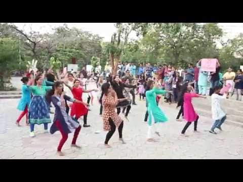 Flash Mob by Students of Centre for Health Psychology