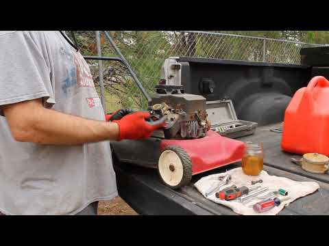 Briggs And Stratton 3.5 HP Dies Or Surges - How To Fix