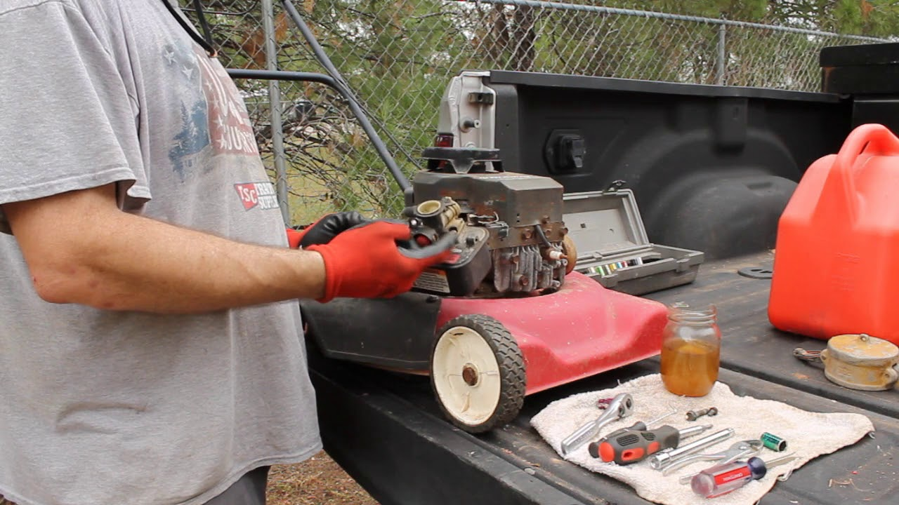 Briggs and Stratton 3 5 HP Dies or Surges - How to Fix