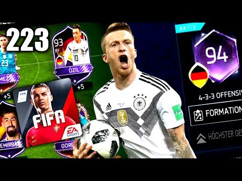 SCHAFF ICH STUFE 5?! ?? FIFA 18 MOBILE #223 thumbnail