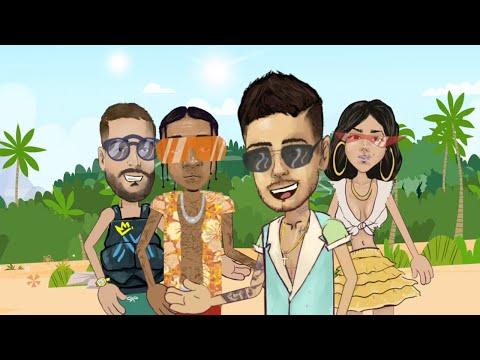 Reykon – Latina [Remix] feat. Tyga   Becky G   Maluma (Animated video)