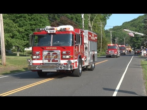Oxford Center,ct Fire Company 75th Anniversary Parade
