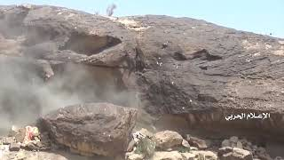 Yemeni forces attack Saudi mercenaries' bases in Majaza area of Asir